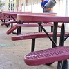 Outdoor Lunch tables
