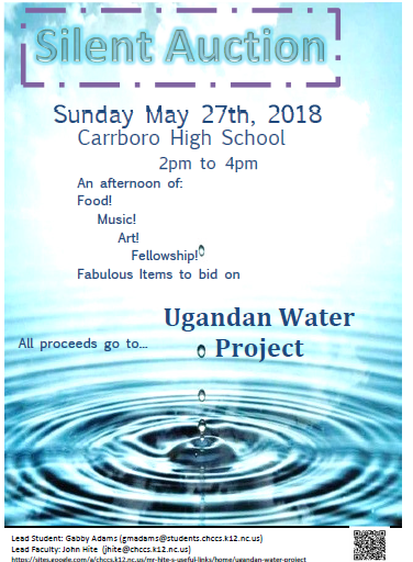 Uganda-Water-Project-Silent-Auction-~-Poster-~-PNG